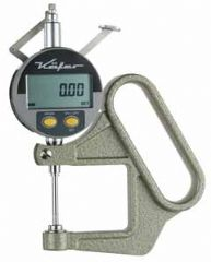 KAFER Digital Thickness Gauge JD 50/25 with Lifting Device - Reading: 0.01 mm
